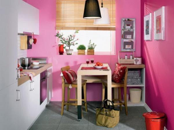 сочетание цветов для кухни: удачные сочетания