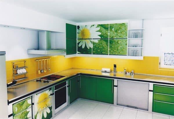 Сочетание цветов в интерьере кухни: гармония цвета