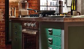 кухни в стиле лофт-3