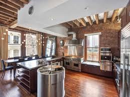 кухни в стиле лофт: