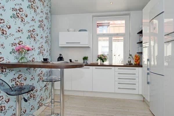 как выбрать для кухни: белая кухня