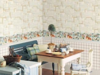 чем отделать стены на кухне: лучшие обои