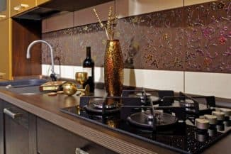 чем отделать стены на кухне: недостатки плитки