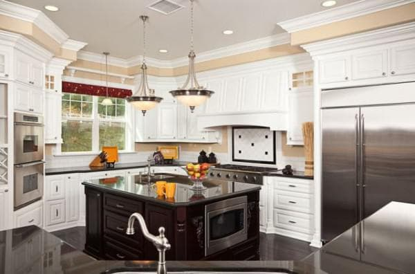 планировка кухни гостиной.