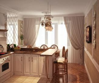 ситльно прованс в интерьере кухни