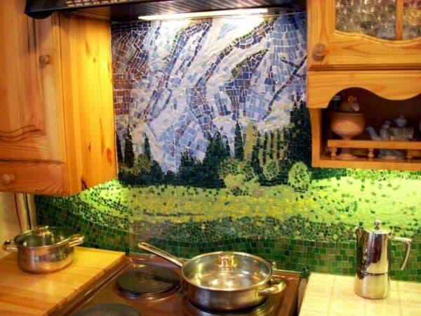 панно керамическое на кухню