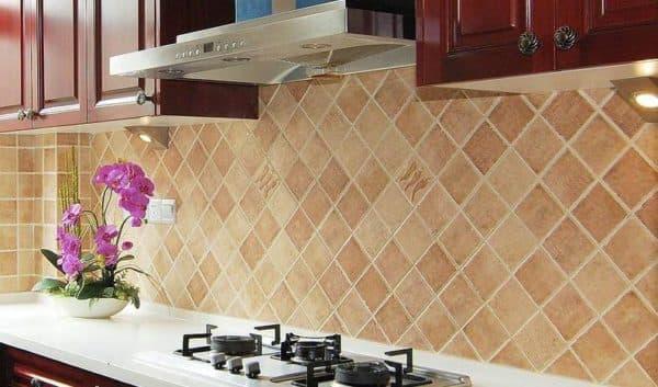керамическое панно для кухни