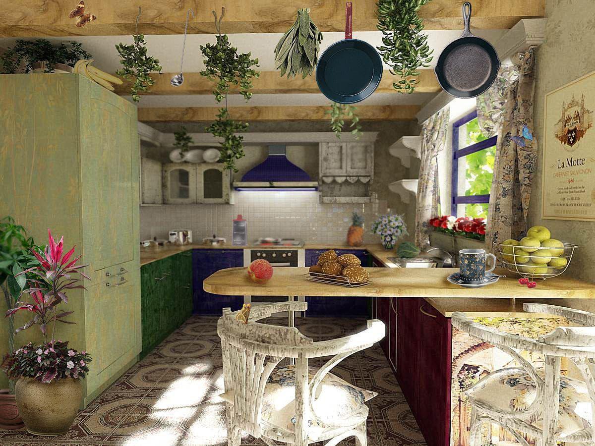 Стили фартуков для кухни 53 фото прованс пэчворк лофт и классика Особенности стильного дизайна с плиткой и текстильными элементами