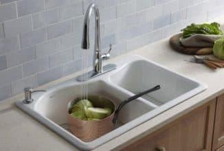 эмалированная мойка на кухню