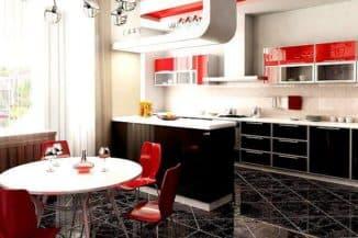 кухня в стиле арт деко