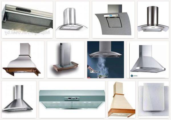 Кухонные фильтры воздуха над плитой