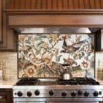 плитка мозаика на фартук на кухню