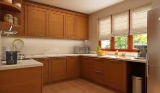 оформить окно на кухне
