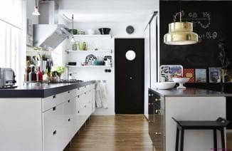 скандинавский стиль кухни