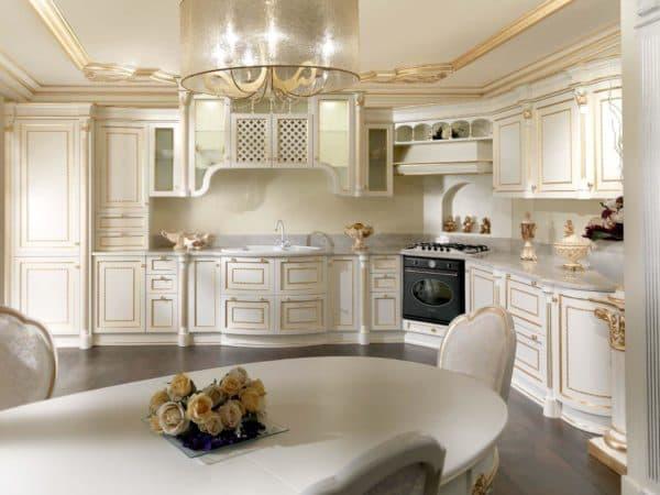 кухни современная классика