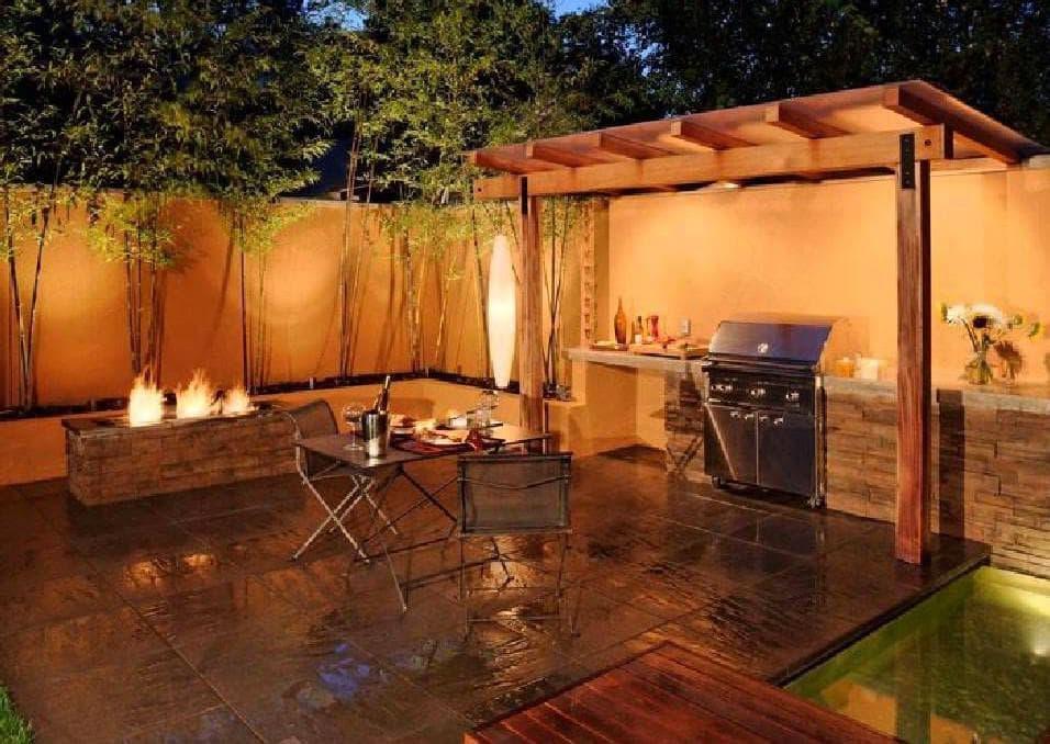 Кухня с выходом на террасу: дачные столовые своими руками, проекты