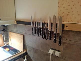 рейлинги на кухню как разместить