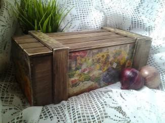 Ящики для хранения овощей