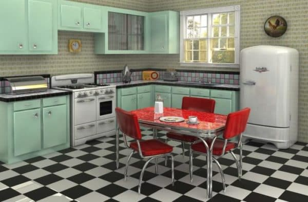 Как выбрать напольную плитку для кухни,