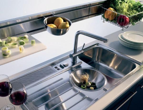 Двойная мойка для кухни