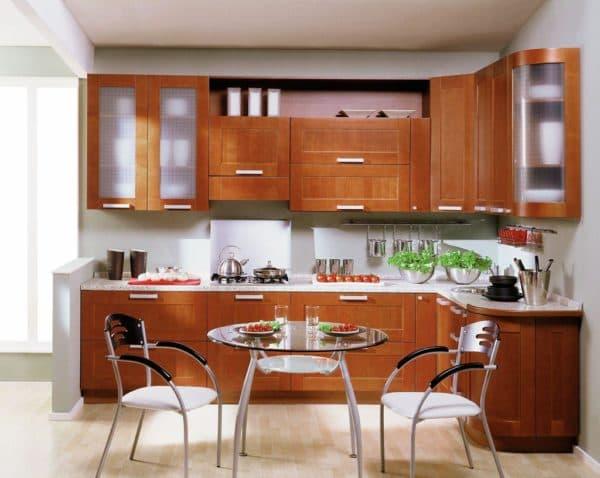 Проект кухни с расстановкой мебели,