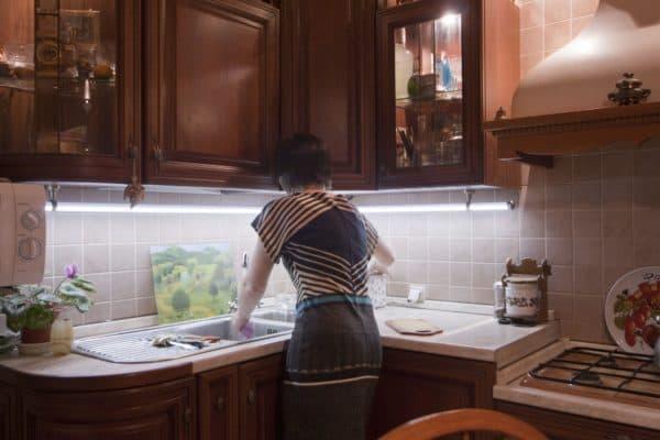 Светильники для кухни над рабочей поверхностью,