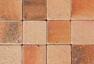 Терракотовая плитка для облицовки печи и камина