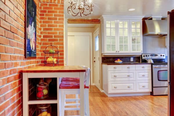 Отделочные материалы для стен кухни