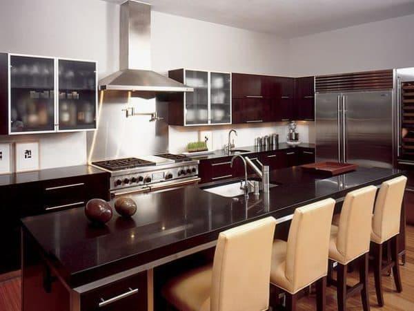 кухни остров дизайн