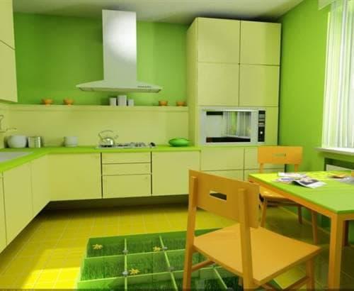 Желтые кухни идеальное сочетание в солнечном интерьере