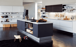 Кухня остров дизайн