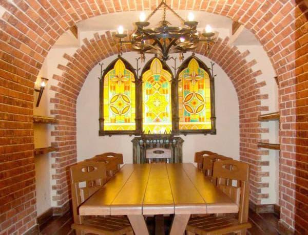 Терракотовая плитка для облицовки печей и каминов