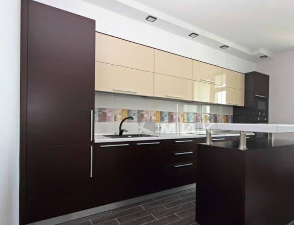 кухни светлый верх темный низ