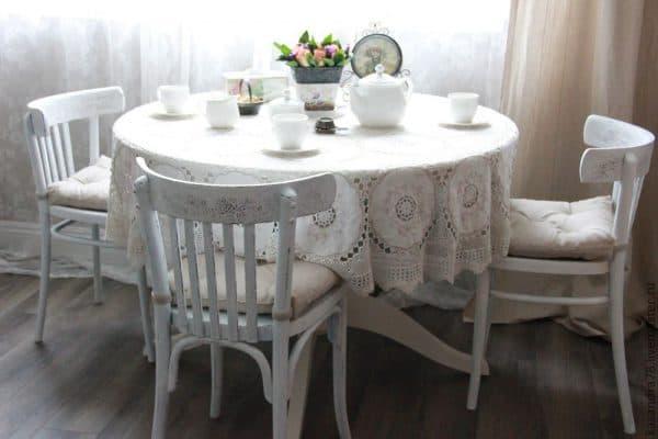 венский стул в стиле прованс
