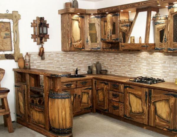 угловая барная стойка для кухни