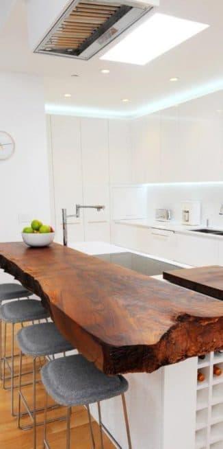 Деревянная столешница для кухни,