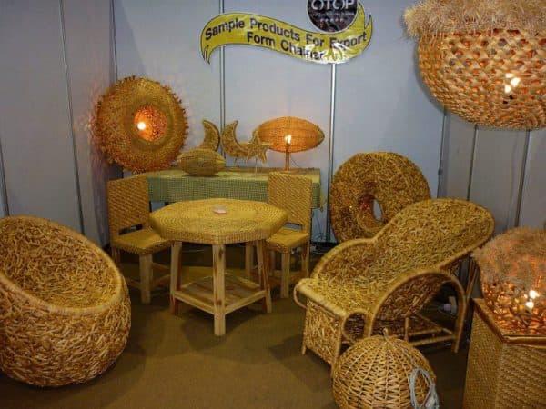 Плетеная мебель Икеа