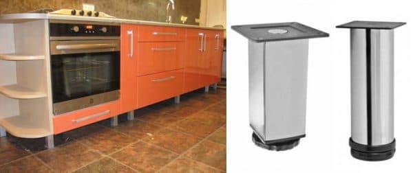 ножки для кухонного гарнитура