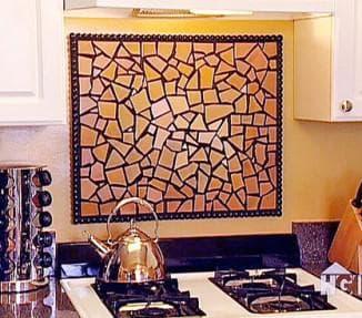 Керамическая плитка для кухни на фартук
