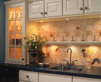 Светильники для кухни под шкафы