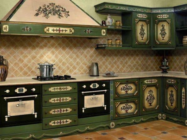 Замена фасадов на кухонном гарнитуре