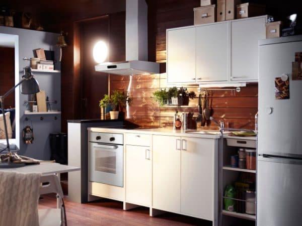 стенки кухонных модулей Икеа