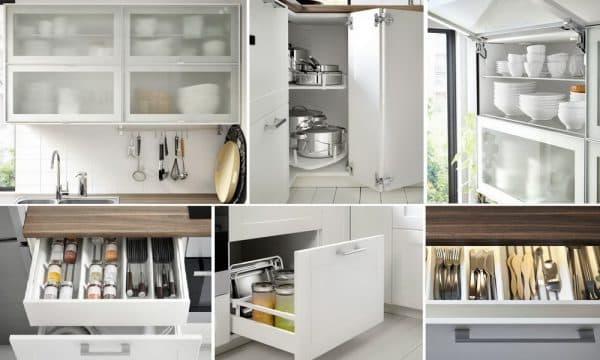 кухонные шкафчики Икеа