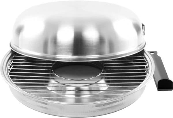 нержавеющая гриль сковорода на газовую плиту