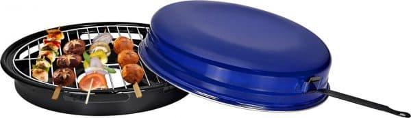 гриль сковорода с покрытием из эмали на газовую плиту