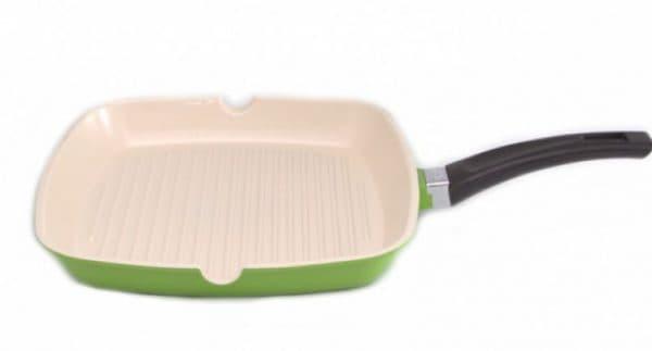 сковорода гриль с керамическим покрытием Гипфел