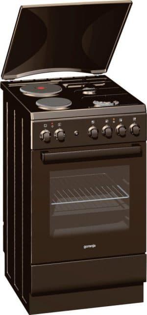 комбинированная плита с электрической духовкой Gorenje