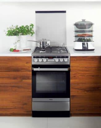 комбинированная кухонная плита с электрической духовкой