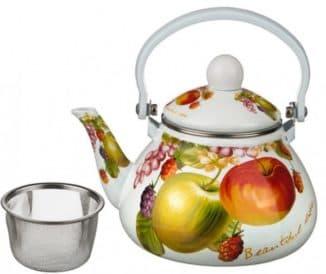 эмалированный чайник для индукционной плиты