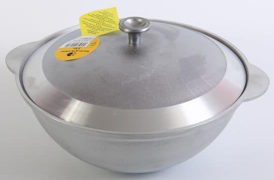 алюминиевый казан для индукционной плиты